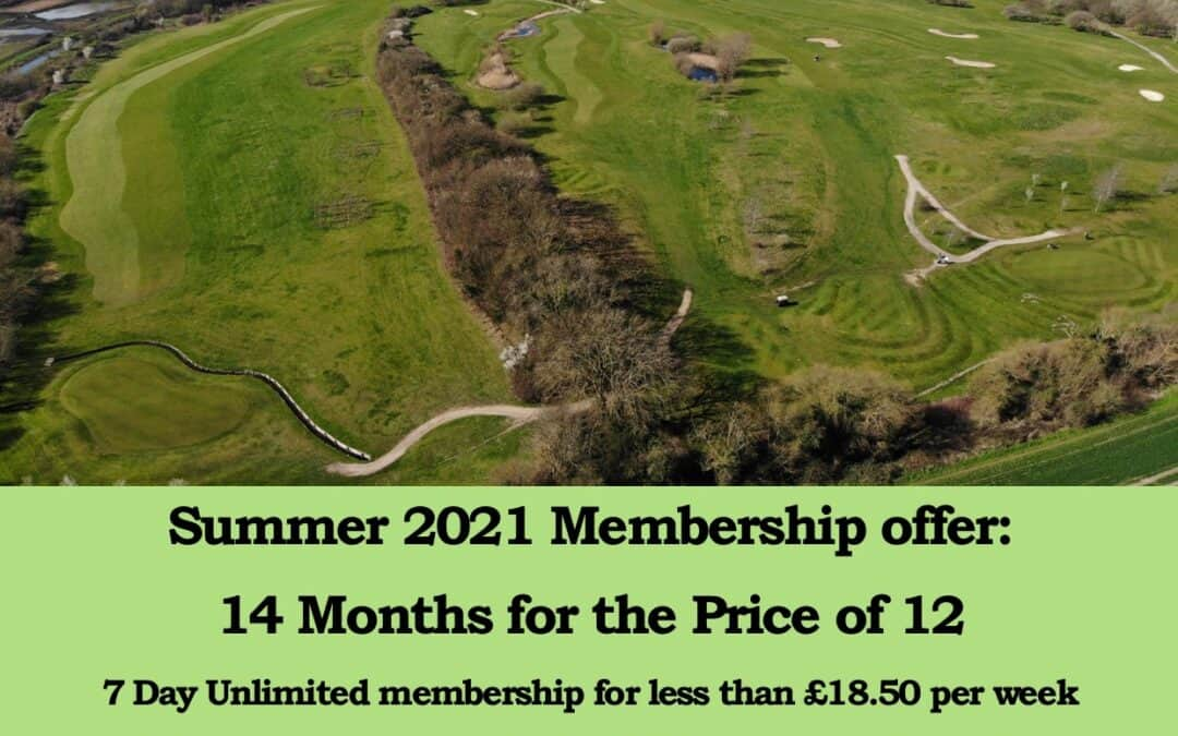 Summer 2021 Membership offer